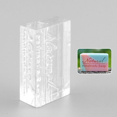 Nice Acrylic Natural Word Design Handmade Clear Soap Stamping Stamp Mold Mould
