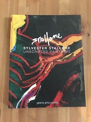 Silvester Stallone Unscripted Paintings Kunstbuch Art