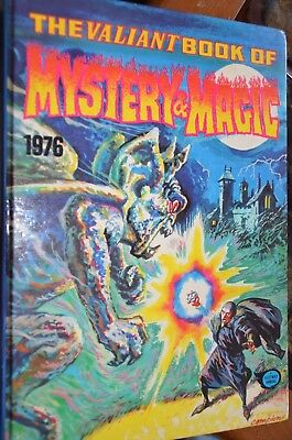 THE VALIANT BOOK OF MYSTERY AND MAGIC 1976 UK comics 2000AD Fleetway annual