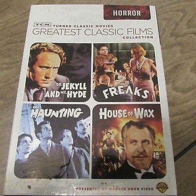 TCM Greatest Horror Classic Films Collection (2-Disc DVD Set, 2009) (D3)