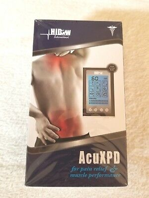 HiDow Hi-Dow AcuXPD Micro Physical Therapy Tens unit Massager plus two xl pads