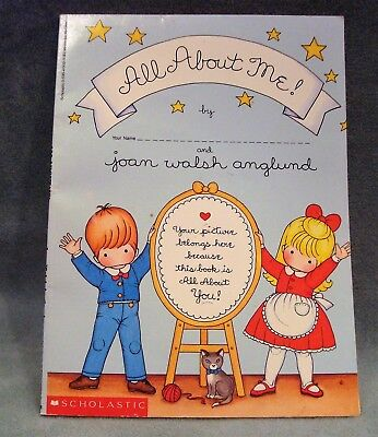Childs Keepsake Book, All About Me by scholastic vintage but never used