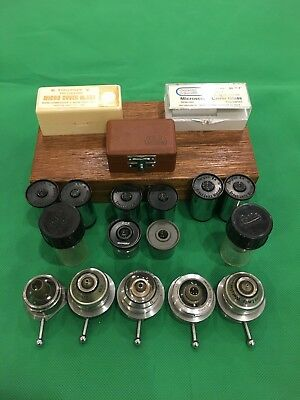 Microscope Eyepieces, Objectives, And Accessories