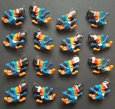 1984 Kellogg Toucan Sam Hair Barrettes Clips Froot Loops Cereal VTG 1980s Tucan