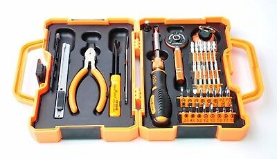 Tool Kit Household Maintenance Repair Screwdriver Ratchet Set 47pc DRILLFORCE