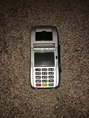 First Data FD130 EMV Credit Card Terminal - Mildly Used - One Roll of Paper