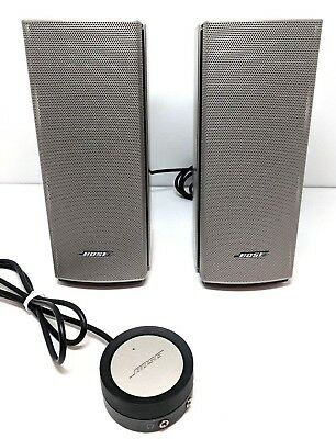 Bose Companion 20 Multimedia/Computer Speaker System 55761 w/ ALL CABLES CORDS
