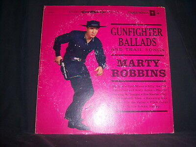 Columbia CS-8158 Marty Robbins - Gunfighter Ballads and Trail Songs 1971 12""