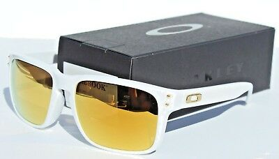 555781865f OAKLEY Holbrook ASIAN FIT Sunglasses Polished White 24K Gold Iridium  OO9244-14