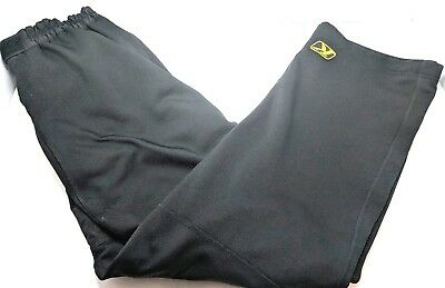 Klim Mens Transition Mid-Layer Snowmobile Pants Snowcross Medium M - Black - EUC