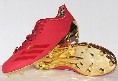 buy popular d1ea9 b0f16 Adidas ADIZERO 5-STAR 6.0 SUNDAYS BEST Football Cleats Mens 10.5 Red Gold  BW0881