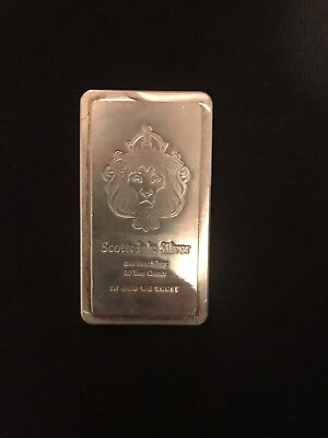 (1) 10oz Scottsdale STACKER® Silver Bar .999 Silver