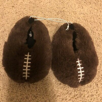 NWT Childrens Place Toddler Boys Football Slippers Size 4/5