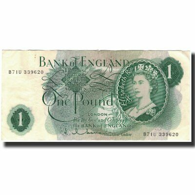 [#591651] Banknote, Great Britain, 1 Pound, 1962, KM:374c, EF(40-45)