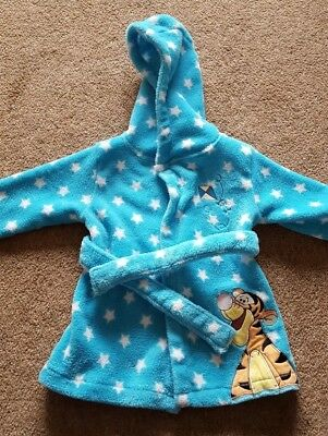 Disney Tigger dressing gown 6-9 good condition