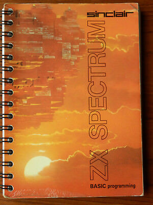 Sinclair ZX Spectrum - Basic Programming Manual - vg condition