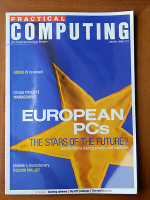 Practical Computing - Jan 1989 -  vintage computer magazine