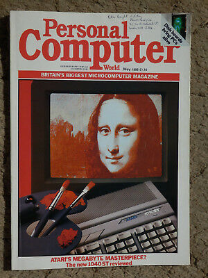 Personal Computer World - May 1986 -  vintage computer magazine