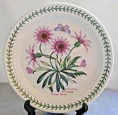 "PORTMEIRION Botanic Garden ~ 8.5"" Salad Plate ~ TREASURE FLOWER  ~ 1st Quality"