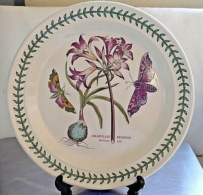 """PORTMEIRION Botanic Garden ~ 10.25"""" Dinner Plate ~ MEXICAN LILY  ~ 2nd Quality"""