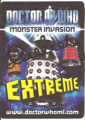Doctor Who - Serena Cacciato signed Monster Invasion card