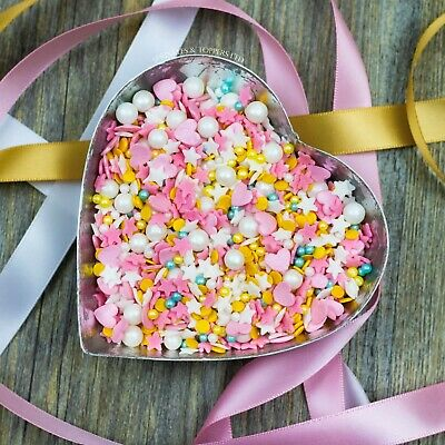 Summer Loving Sprinkles Mix Sugar  Cupcake / Cake Decorations