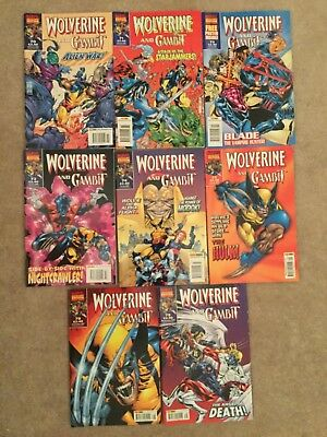 Wolverine and Gambit - lot - #70-75/78-79