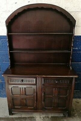 ~Quality ~Ercol ~Old Colonial ~Welsh Dresser~ VGC~