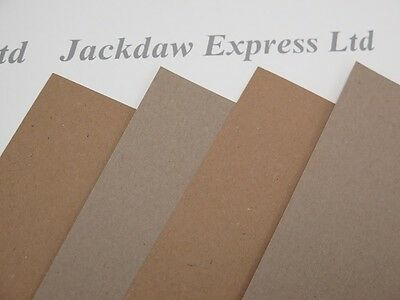 Kraft Recycled Paper Brown 50 x A5 130gsm for Cardmaking Wedding Invites Crafts
