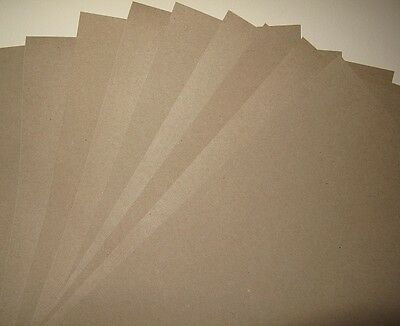 Kraft Recycled Paper Brown 50 x A4 100gsm for Cardmaking Wedding Invites Crafts