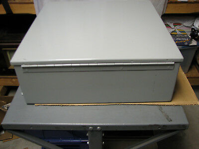 "WIEGMANN B202007CH ELECTRICAL PANEL ENCLOSURE 20"" x 20"" x 7"" NEMA 12 / 13"