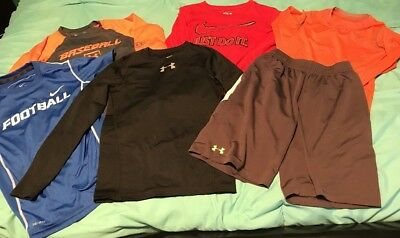 Nike Under Armour Youth Boys LOT Size YS Small