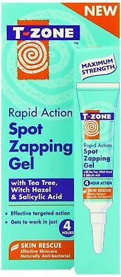 T-ZONE 4hr Spot Zapping Gel 8ml Rapid treatment of Spots Blemishes MAX STRENGTH