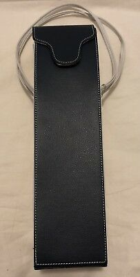 Brand New Wine Bottle Carry Bag with Handles Navy Cream Very Sturdy - Never Used