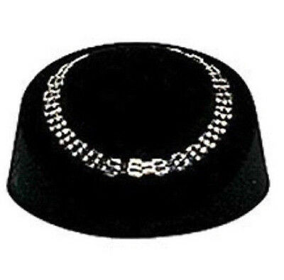 "BLACK NECKLACE DISPLAY 2.5"" HIGH x 6"" WIDE x 10"" DEEP,LIGHTWEIGHT TABLE DISPLAY"