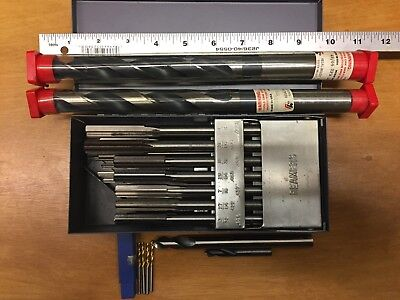Reamers set and other machinist tools