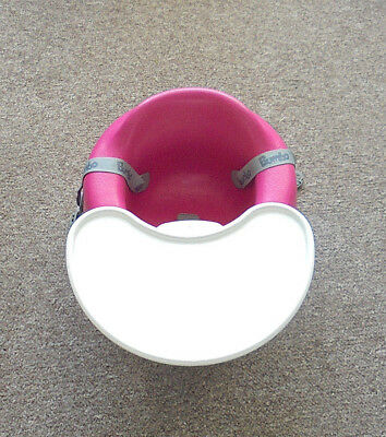 Bumbo Seat With Saftey Straps Complete With Play / Feeding Tray