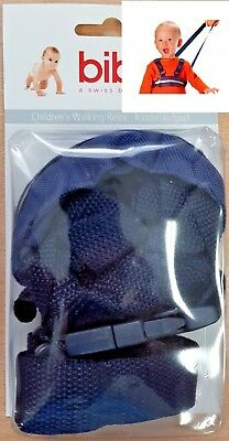 Bibi Child Walking Reins Toddler 6m-4yrs Security Harness Reflective Washable