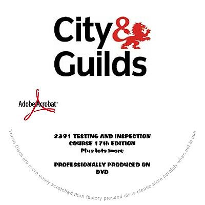 """2391 TESTING & INSPECTION COURSE 17th EDITION + over 600 electrical pdf-books""""-."""