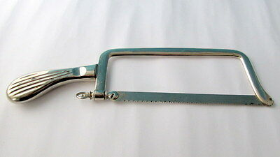 Antique Old Vintage Medical surgical metal amputation saw