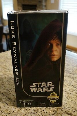 Sideshow Collectibles Star Wars Jedi Luke Skywalker 1/6 *EXCLUSIVE* Unopened