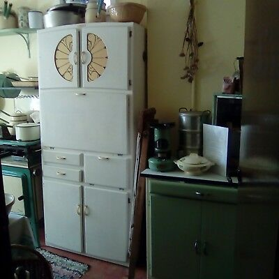 1940s 1950s vintage retro kitchen unit cupboard