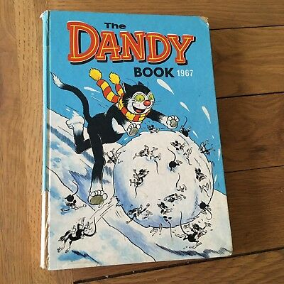 The Dandy Book 1967 - vintage comic annual