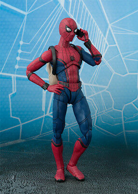 S.H.Figuarts Marvel Spider Man Home Coming PVC Action Figure New In Box