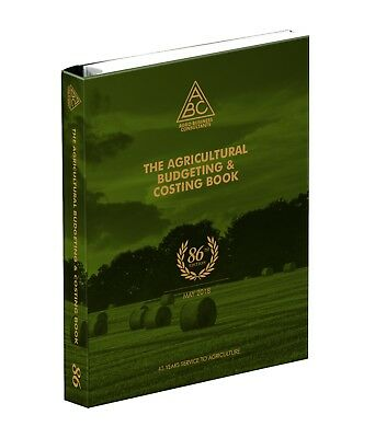 The Agricultural Budgeting and Costings Book.LATEST 2018  86th Edition