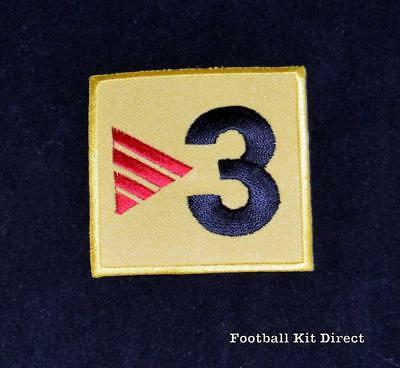 Official FC Barcelona TV3 football shirt Patch/Badge la liga Player Issue