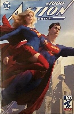 Action Comics 1000 Stanley Artgerm Lau Buy Me Variant Nm Superman Nm