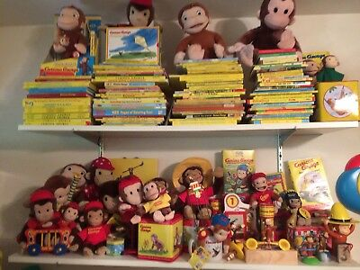 Curious George Collection! Over 600 Pieces, Too Many To Picture. Rare & Vintage!