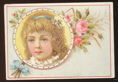 1880-90S Trade Card Advertising George Boyd & Sons 'queen' Brand Table Syrup