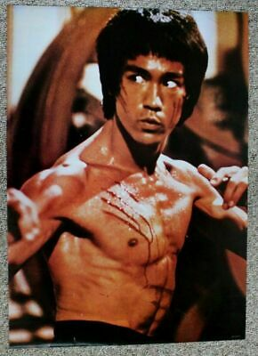 06bf6c08adc 1980S BRUCE LEE Enter The Dragon Movie 22X34 Poster Rare Authentic ...